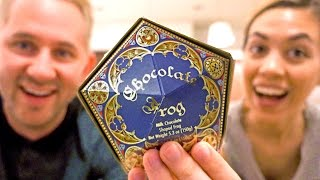 Chocolate Frog?   Trying Harry Potter Candies