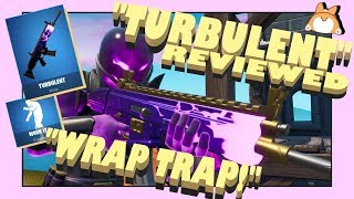 "Complete Honest Review: Fortnite ""TURBULENT"" Weapon Skin / Wrap + ""WORK IT"" Emote /New Itemshop"