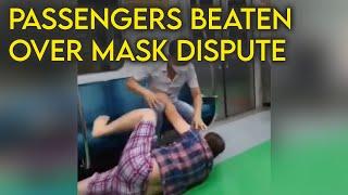 Man brutally attacks passenger…