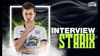 Team Spirit - Interview with Starix