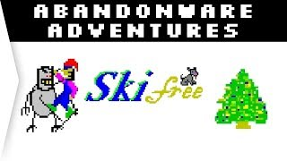 SkiFree ► Classic Retro Skiing Game Nostalgia - How to Play on Windows 10 - [Abandonware Adventures]