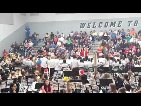 Feagin Mill Middle School Christmas Band Concert 2015 live stream