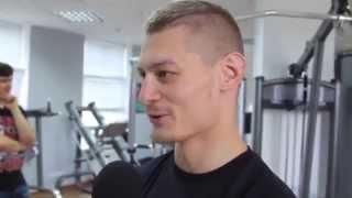 Андрей Кулебин в Wargaming Minsk Belarus Andrei Kulebin тайский бокс Муайтай