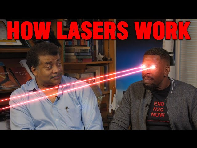 How Lasers Work, with Neil deGrasse Tyson