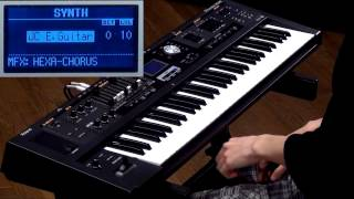 Roland V-Combo VR-09 Introduction: Applications