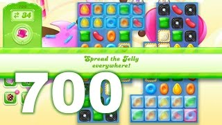 Candy Crush Jelly Saga Level 700 (3 star, No boosters)