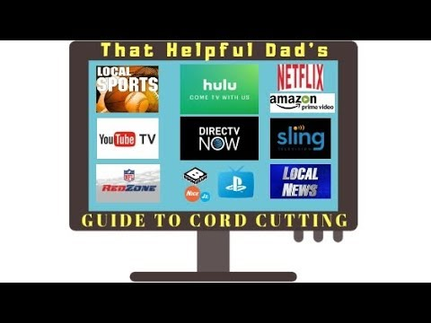 CORD CUTTING Tips & Reviews:  Sling, Direct TV Now, YouTube TV, PlayStation Vue, Hulu Plus