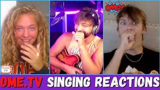 Singer VS Ome.TV Girls (Singing Reactions)