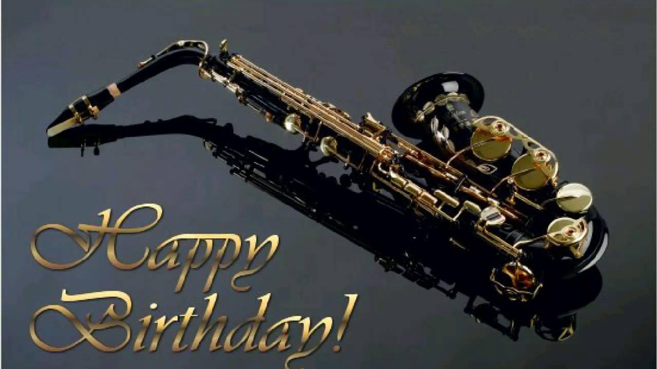 Saxophone Birthday Cake Images