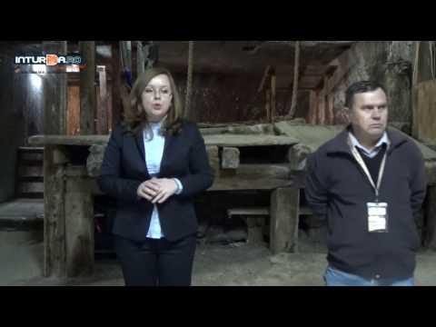 Inaugurarea machetei crivacului din Salina Turda  - Turda Salt Mine extraction room