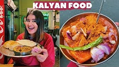 Kalyan Street Food (Part 1) | Chinese, Misal Pav & more | Golgappa Girl