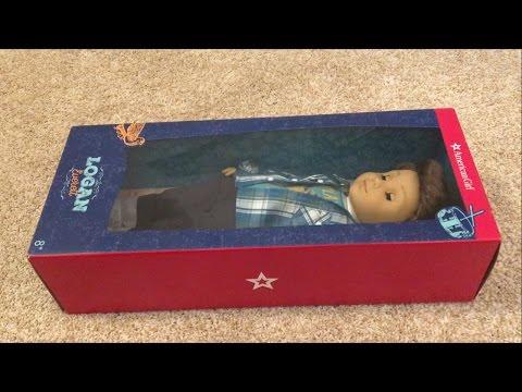 Logan Everett American Girl Doll Unboxing!