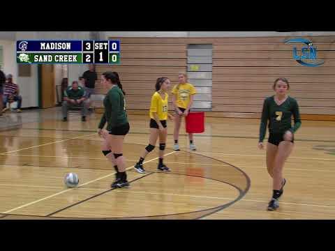 Madison Trojans vs Sand Creek Aggies (2017 Volleyball)