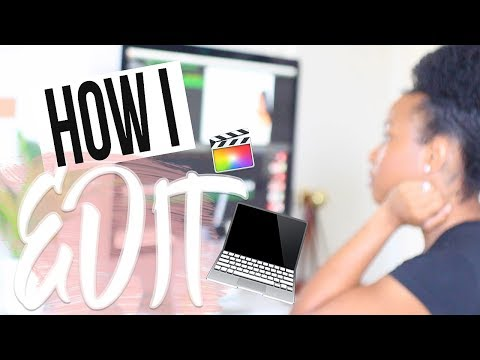 HOW I Edit my YOUTUBE videos TUTORIAL! | HIGHLY REQUESTED
