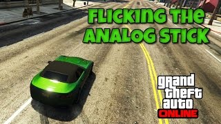 GTA 5 Tips #10 - Flicking The Analog Stick! (Consistent Cornering) PS4