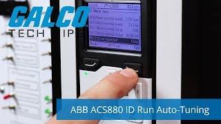 ABB ACS880 ID Run Auto-Tuning Function - A Galco TV Tech Tip