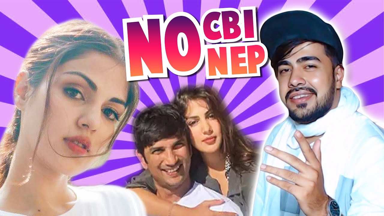 REAL FACE OF RHEA CHAKRABORTY || REJECT NEP ||