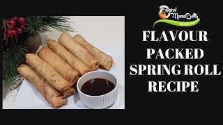 VLOGMAS DAY 22 HOW TO MAKE A FLAVOURSOME SPRING ROLL