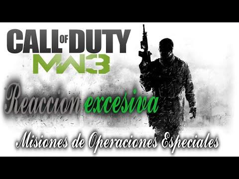 MW3| Reacción excesiva | Operaciones Especiales