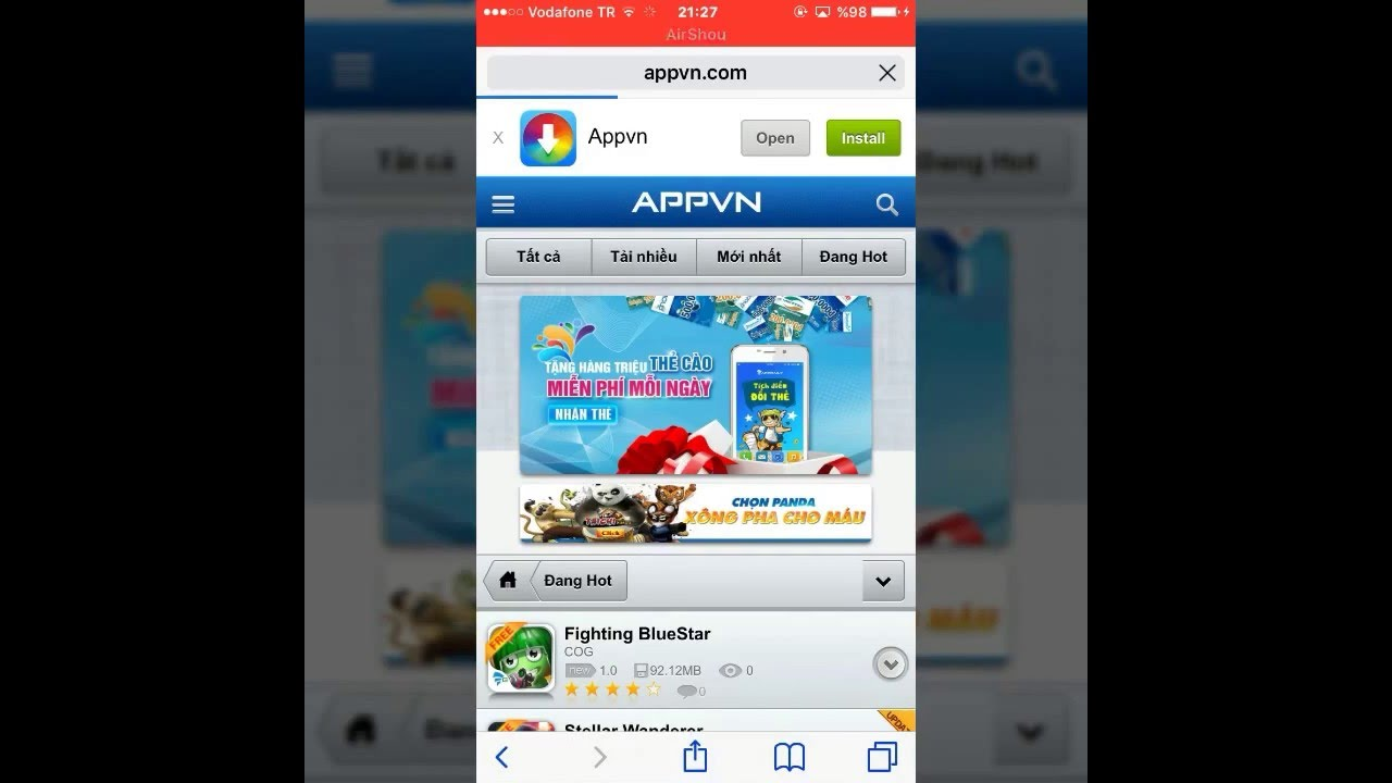 İOS 9 3/9 2 Appvn Actual free store for iPhone İOS populer apps and games