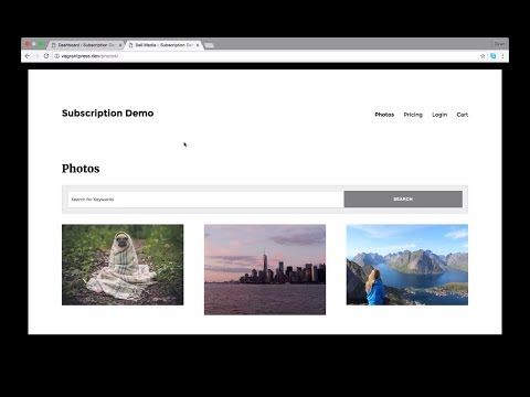 How to Sell Photo & Video Subscriptions through WordPress