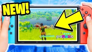 *NEW!* FORTNITE NINTENDO SWITCH TRAILER & GAMEPLAY! | Fortnite Nintendo Switch Download!