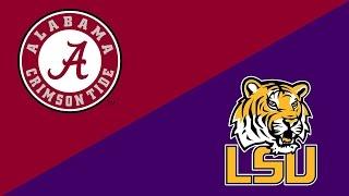 College Football Week 10 Preview: Alabama Crimson Tide/LSU Tigers