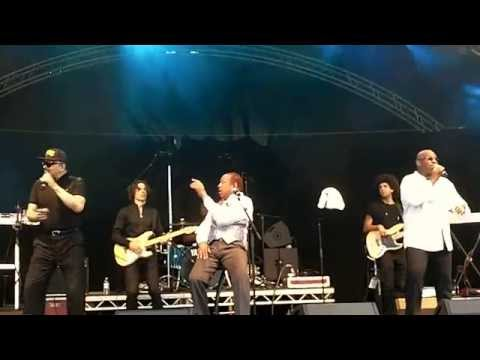 Heatwave perform Boogie Nights live @ party by the seaside, Paignton 2014