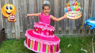 Sally Play Dress up Birthday Cake Party dress for girls