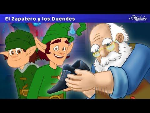 el-zapatero-y-los-duendes-|-cuentos-infantiles-para-dormir-en-español-|-dibujos-animados