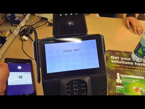 Using Android Pay at CVS Pharmacy