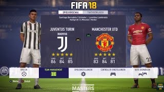 Fifa 18 | juventus vs manchester united | full match gameplay,(ps4/xbox one) hd 1080p 60fps