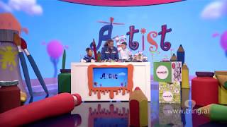 Artisti Tak Fak - Episodi 26 - Piktura e cadres realizuar me Arvi Varsha