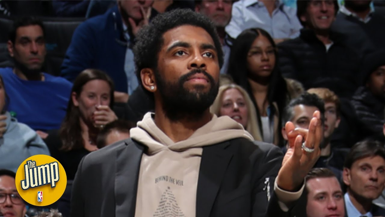 The Nets are happy that Kyrie Irving is dancing with the team on the bench - Zach Lowe | The Jump