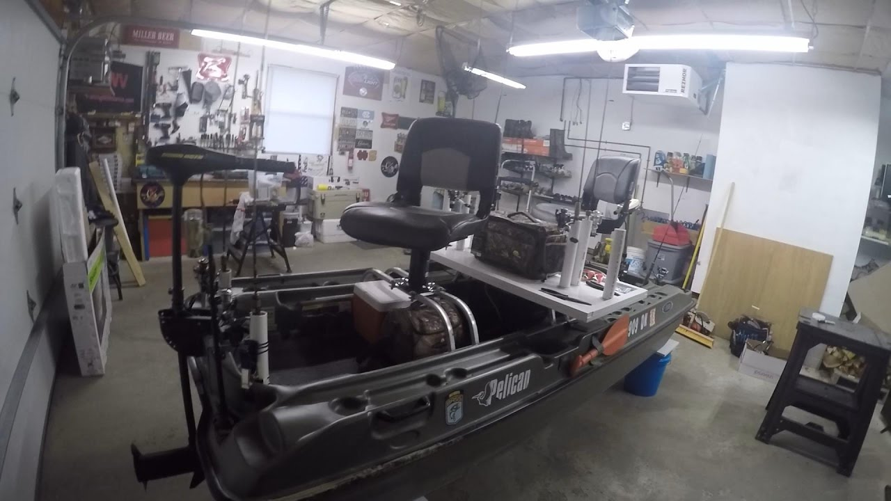 Pelican Bass Raider Modifications 2nd Field Test With Seat Risers Removed