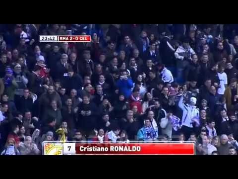 Real Madrid 4-0 Celta _ Copa del Rey 12_13 _ Audio COPE _ 09_01_2013