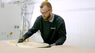 ExOne Entsandungsstation für den industriellen Sand 3D Druck (Furan und KHP)