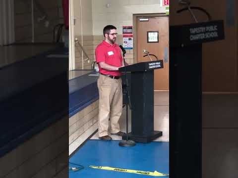 Post Secondary Success Speech for Autism - Tapestry Public Charter School - April 13, 2019