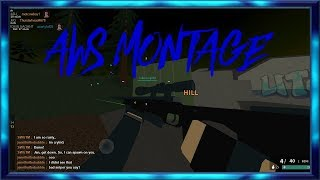 AWS SNIPER MONTAGE!-Roblox(Phantom Forces)