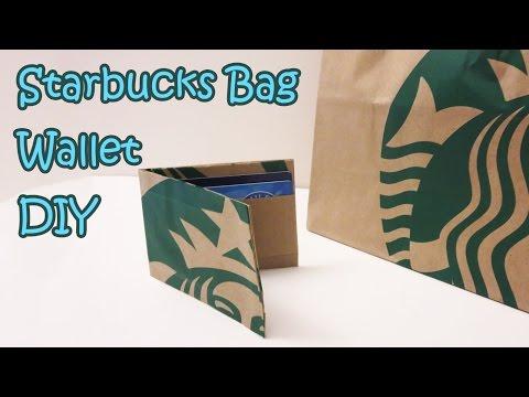 Starbucks Bag Wallet Transformation DIY | Sunny DIY thumbnail