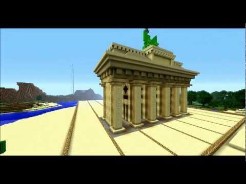 Brandenburger Tor - Minecraft