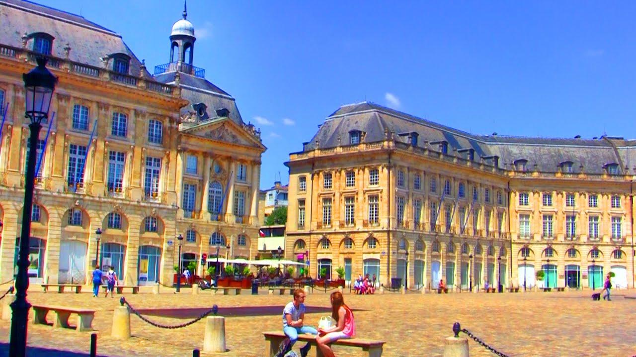 Place De La Bourse Bordeaux France - Free Hd Stock