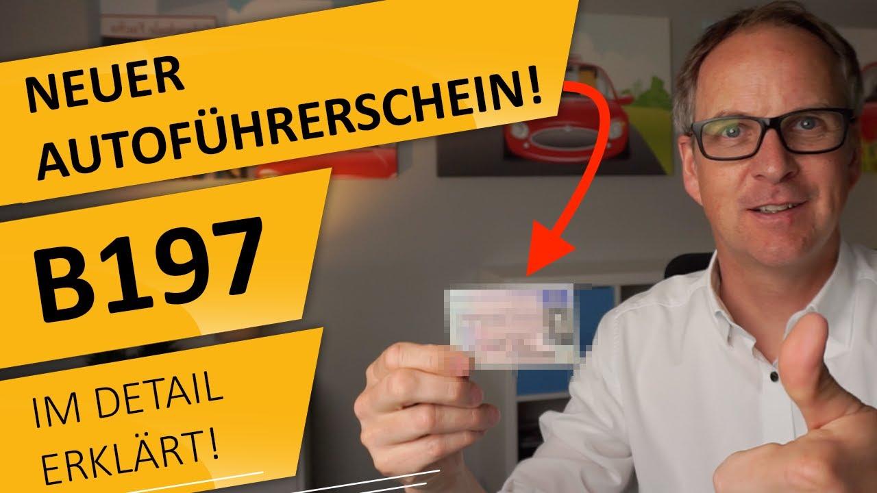 NEUER Autoführerschein! B197 im DETAIL erklärt!