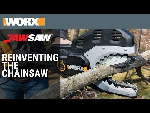 Reinventing the Chainsaw | WORX JawSaw