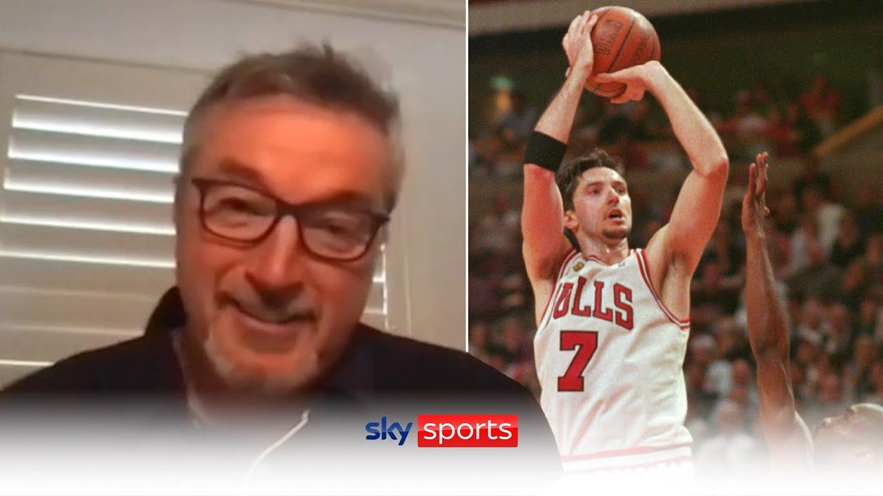 A sit down with Chicago Bulls Legend Toni Kukoc | Sky Sports NBA