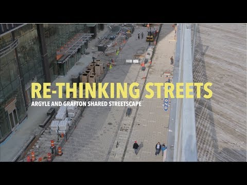 Rethinking Streets (The Argyle Grafton Shared Streetscape)