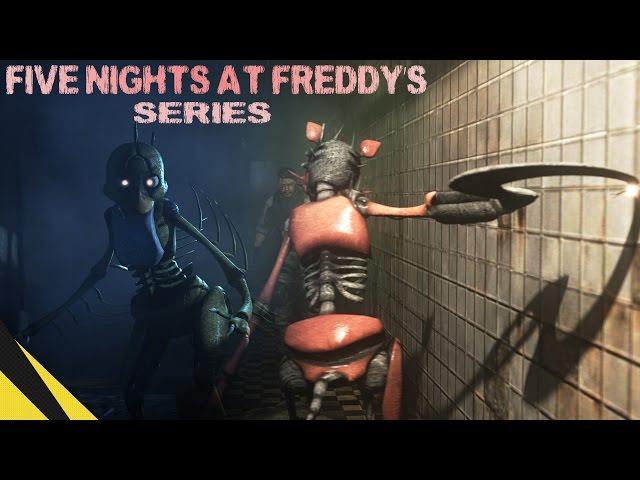 [SFM] Five Nights at Freddys Series (Trailer) | FNAF Animation