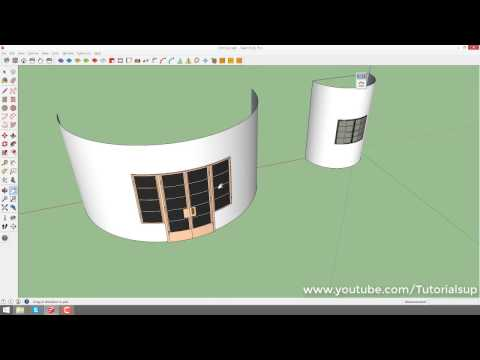 How to use shape bender in sketchup - YouTube