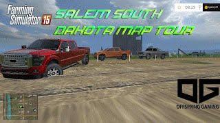 Farming Simulator 2015- Salem South Dakota USA Map Tour!