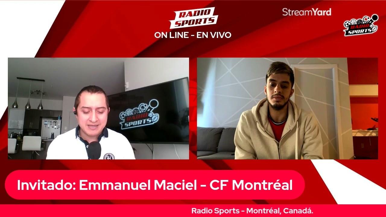 Download Emmanuel Maciel - CF Montréal - Entrevistas Radio Sports MTL